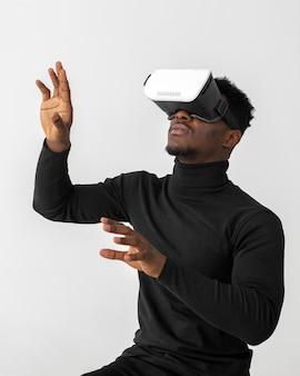 Tiempo de juego con casco de realidad virtual