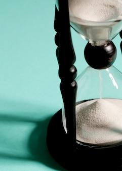 Tiempo de medición de reloj de arena