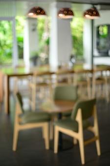 Tienda desenfocada borrosa bar counter cafe restaurant relajación concept