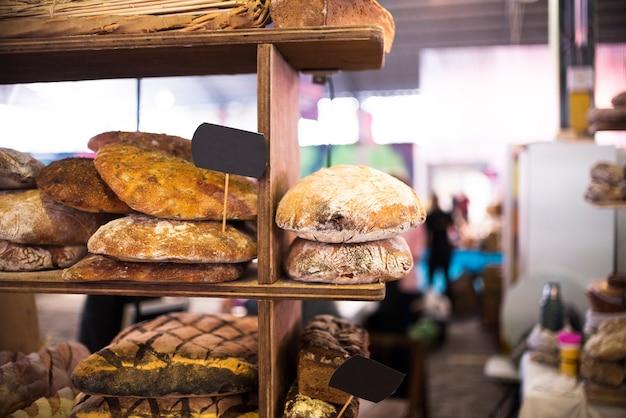 Tienda vintage con pasteles