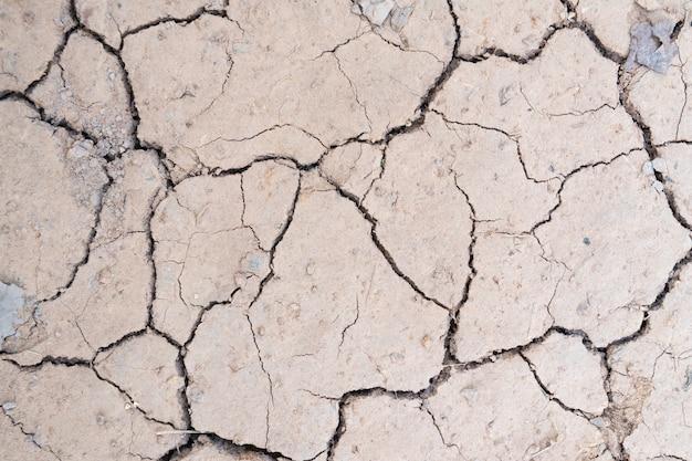 Tierra seca sin agua