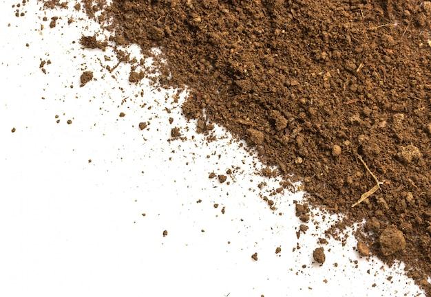 Tierra sucia. textura natural del suelo