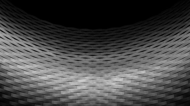 Tiro de primer plano extremo en escala de grises de messe basel