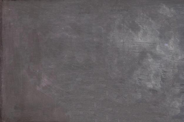 Tiza abstracta en blanco borrada en textura de fondo de pizarra