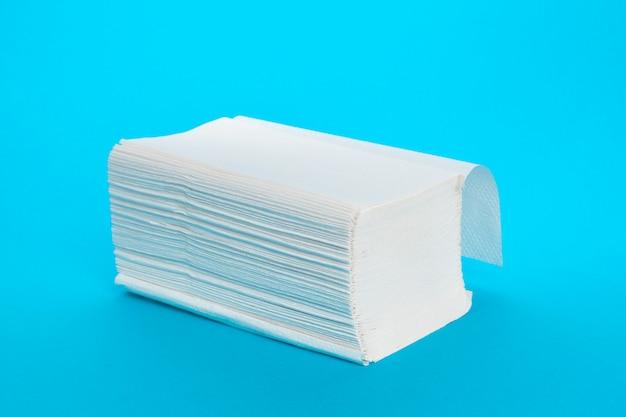 Toallas de papel aisladas
