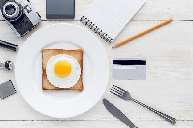 Todavía desayuno hipster perfeccionista