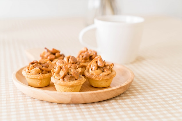 Toffee cupcake con café