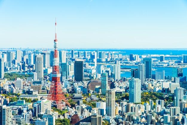 Tokio horizonte de la ciudad