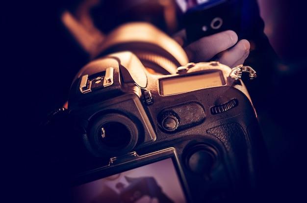 Tomando fotos digitales