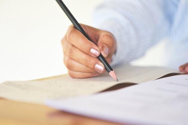Tomar el examen final