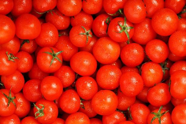 Tomates cherry frescos