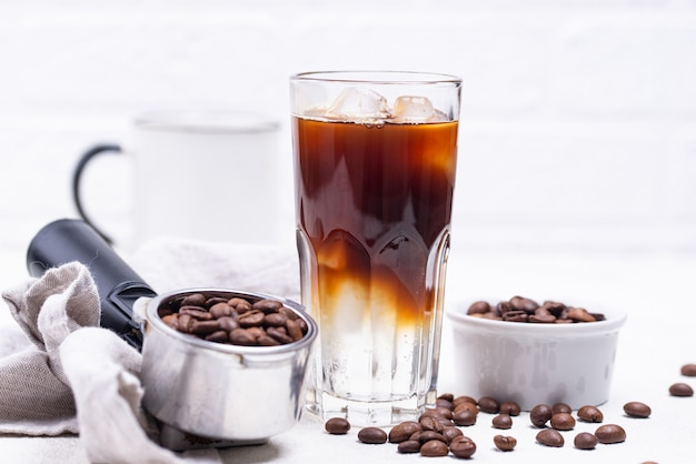 Tónico espresso, bebida de café de moda