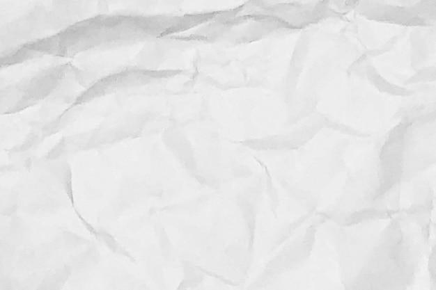 Tono blanco del espacio del diseño del fondo de la textura del papel arrugado blanco
