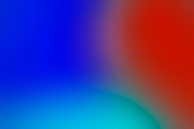 Tonos de colores brillantes en la mezcla