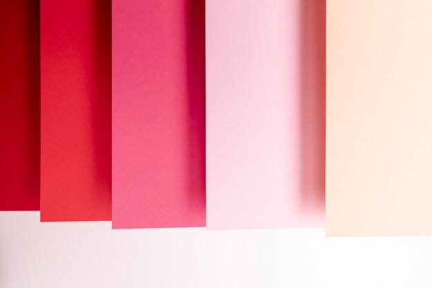Tonos de primer plano de patrón rojo