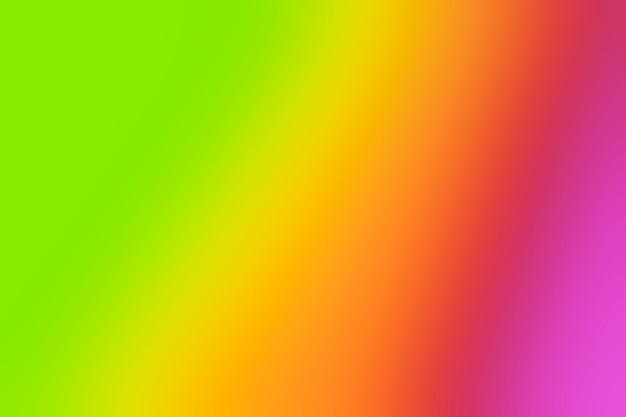 Tonos vívidos del arco iris en la falta de definición