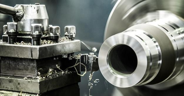 Torno industrial de maquinas