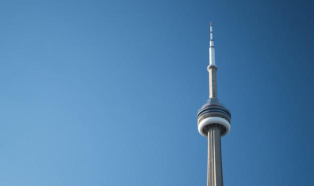 Torre cn, toronto, canadá