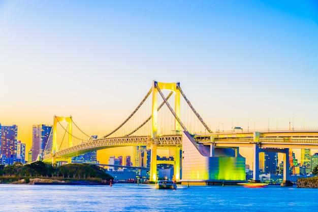 Torre de japón urbana famosa tokio