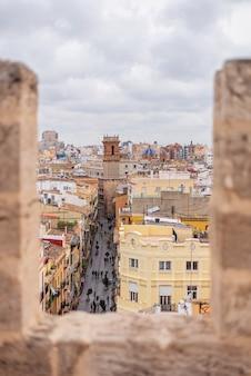 Torre medieval en valencia