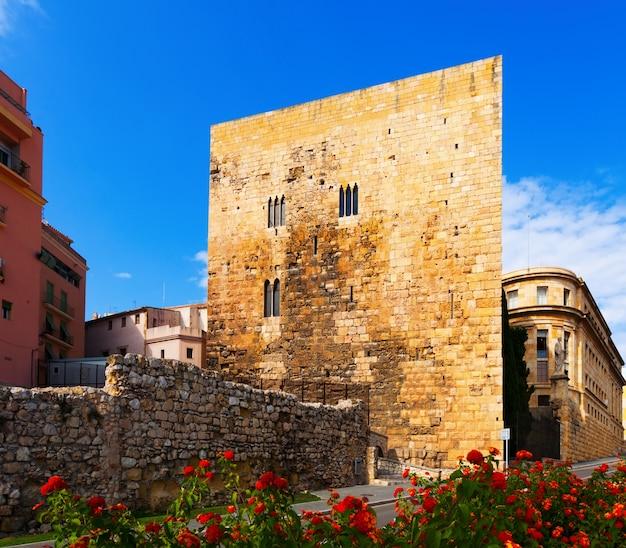 Torre del pretorio romana en tarragona