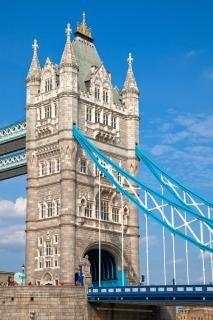Torre del puente hdr ciudad