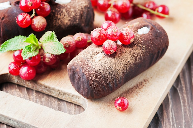 Torta rusa tradicional papas a la trufa