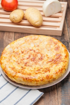 Tortilla española de papa