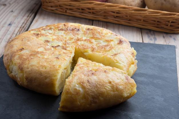Tortilla de papas (típica española)