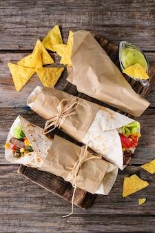Tortillas y nachos