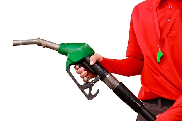 Trabajador de la gasolinera