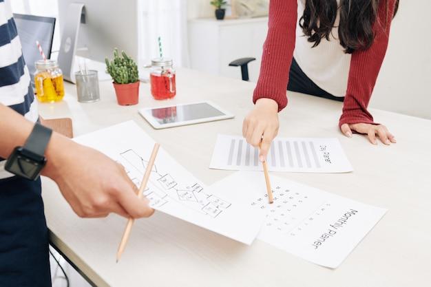 Trabajo de planificación en equipo