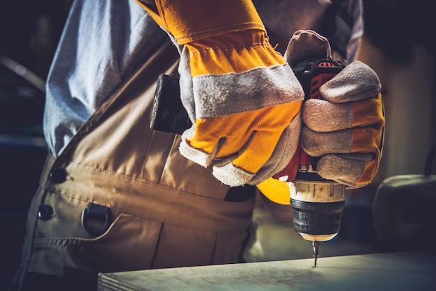 Trabajos de construcción residencial