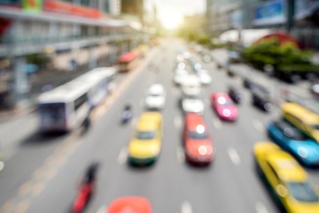 Tráfico en bangkok