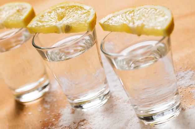Tragos de tequila