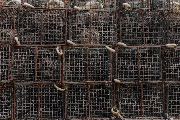 Trampas de pesca de pulpo