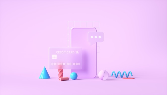 Transacción de pago segura en línea con teléfono inteligente y banca por internet