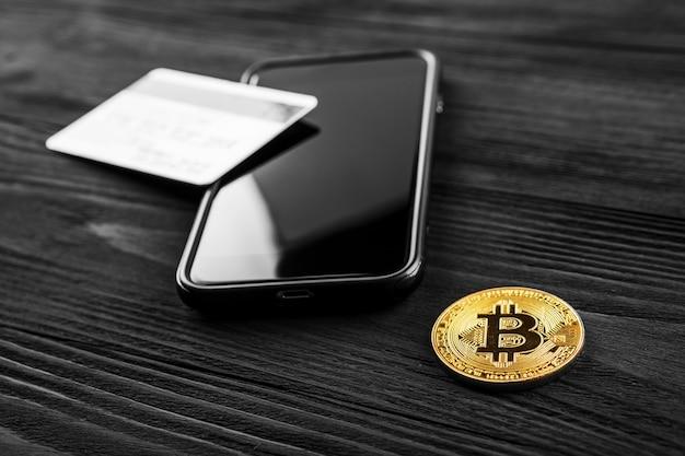 La transferencia del dólar de la billetera a bitcoin