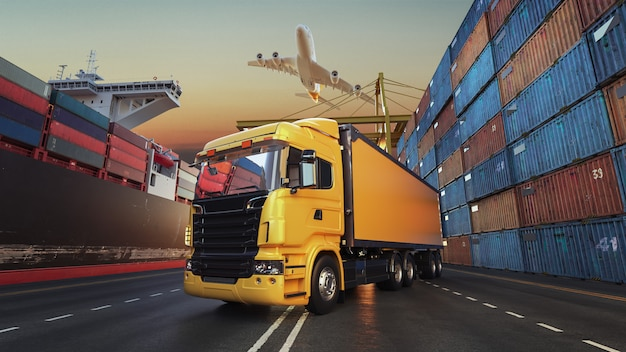 Transporte y logística.