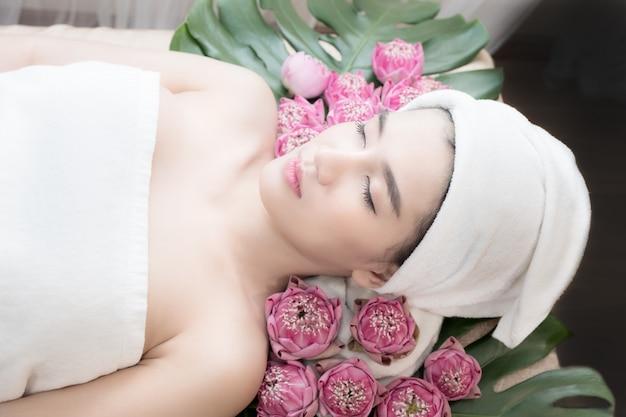Tratamiento de belleza spa