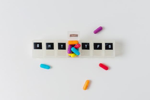 Tratamiento médico con pastillas