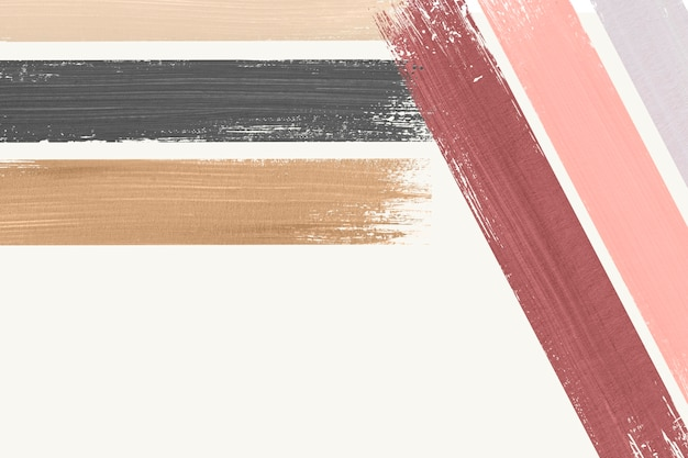 Trazo de pincel acrílico pastel