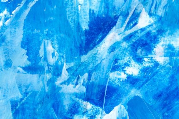 Trazo de pincel azul con textura de fondo