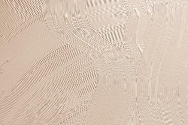 Trazo de pincel marrón con textura de fondo