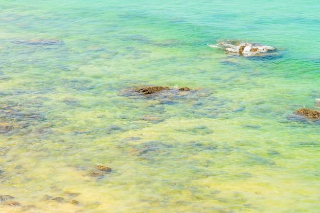 Tropical playa del mar