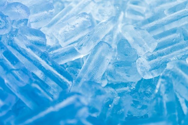 Tubo de hielo abstracto usando como fondo