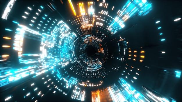 Túnel de la nave espacial
