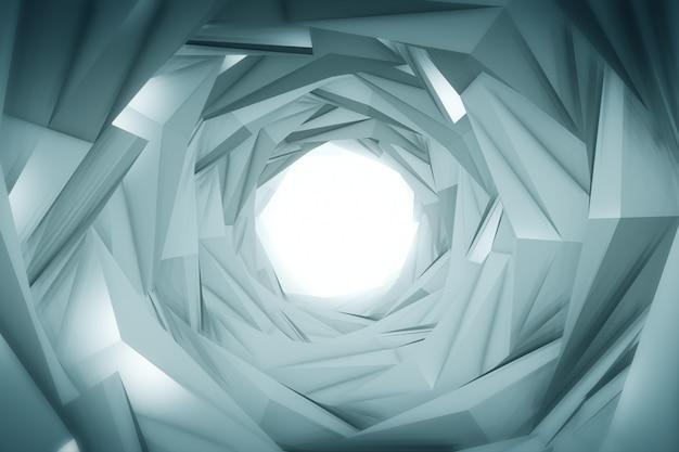 Túnel de tecnología abstracta