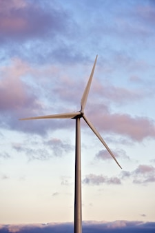 Turbina de viento simple