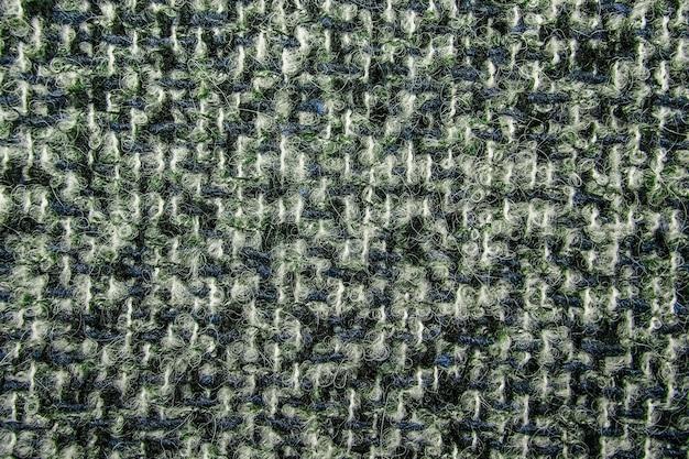 Tweed multicolor como textura, patrón de lana multicolor, espacio de copia de fondo de tela de tapicería melange con textura. textura de fondo de sarga